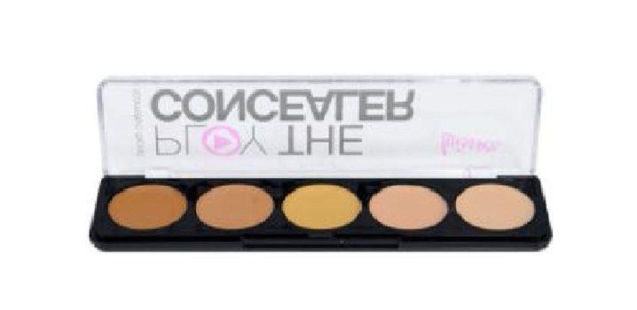 Paleta de corretivo play the concealer Luisance L3005