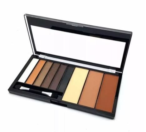 Paleta De Sombra E Contorno Lovely Colors Luisance L6015-b