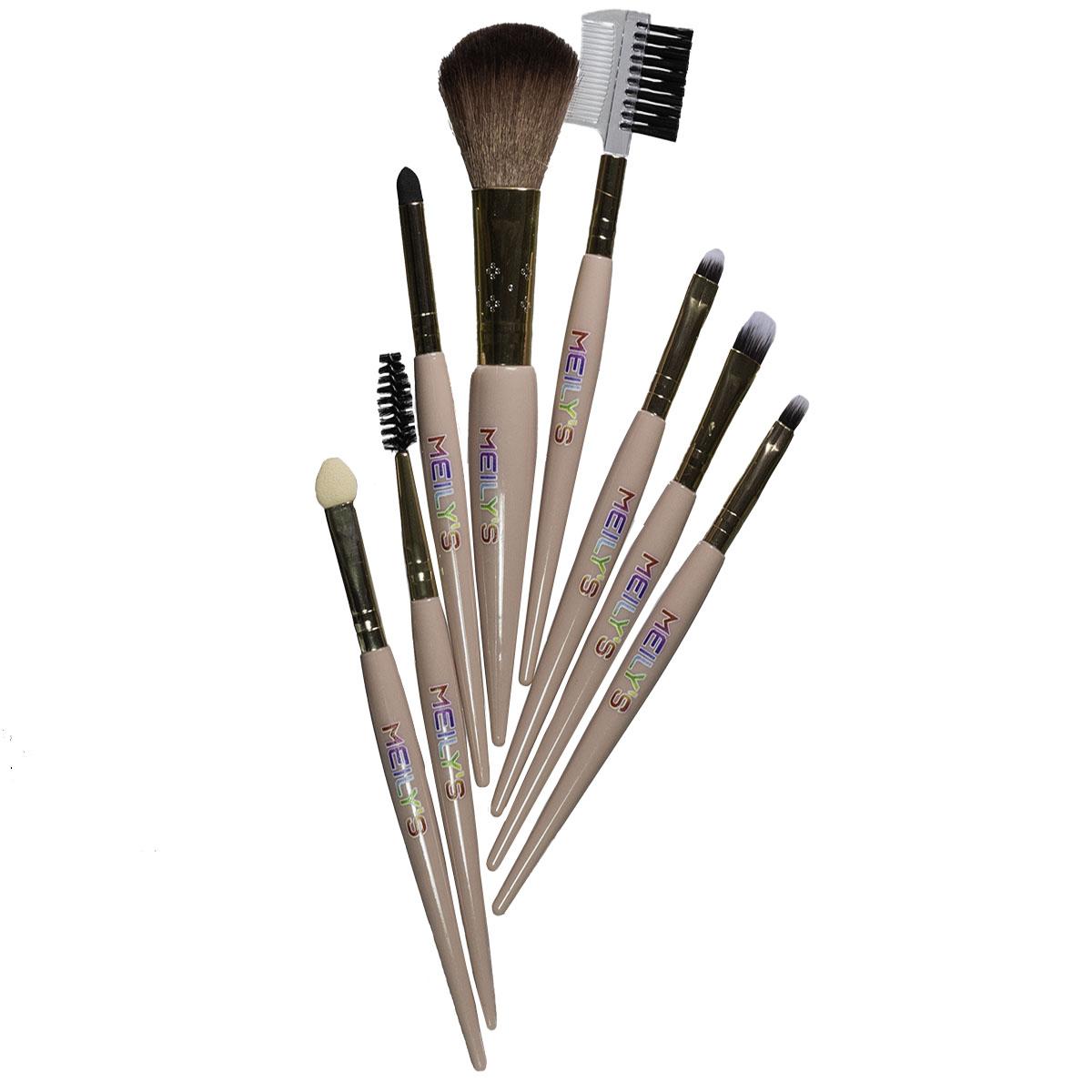 Paleta de sombra + Kit pinceis de maquiagem
