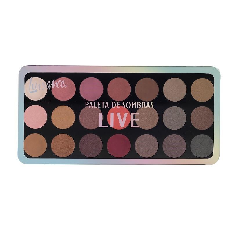 Paleta de Sombra Luisance Live com 21 cores L11003