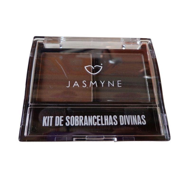 Paleta de sombra para sobrancelha divinas Jasmyne