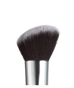 Pincel de Maquiagem Kabuki Angular Silver Macrilan S-08