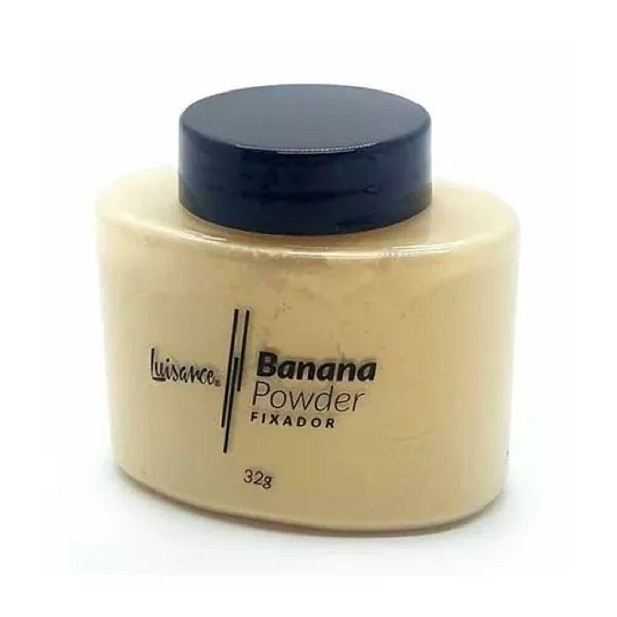 Pó Banana Powder Luisance L9013 KIT COM 7