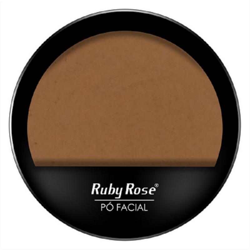 Pó compacto facial Ruby Rose Cor PC17 HB7206