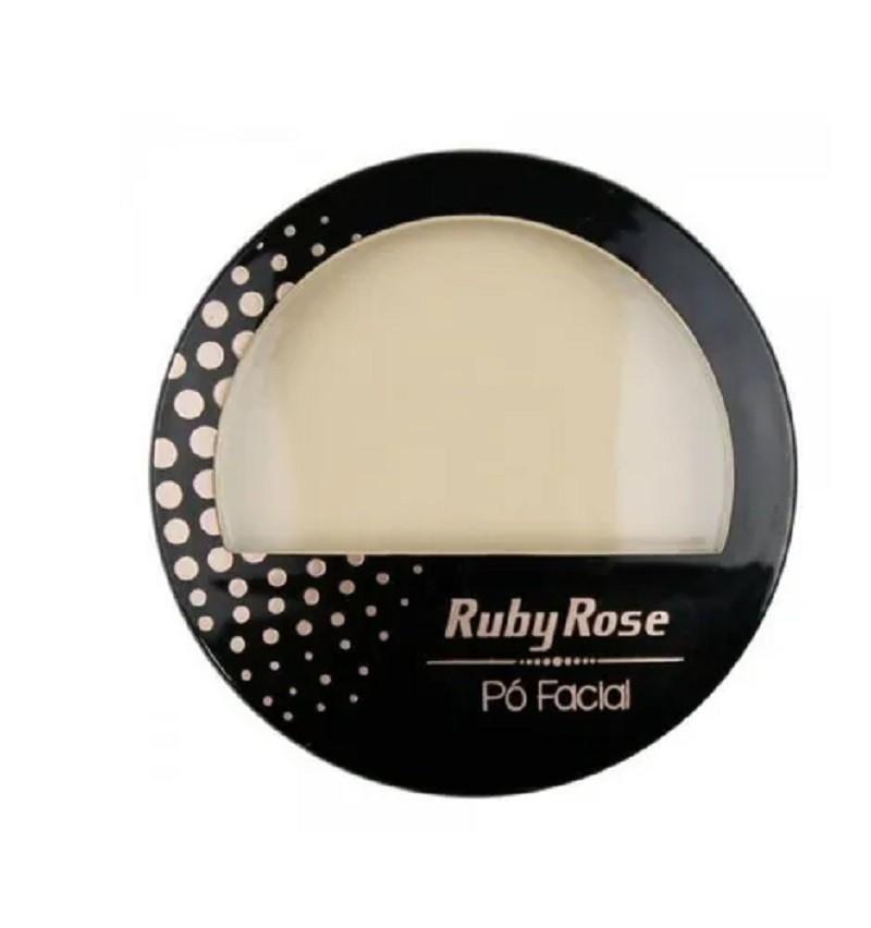 Pó compacto facial Ruby Rose ? Cor PC2 HB-7212