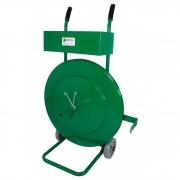 Carrinho Desenrolador de Fita de Arquear Pet R. 400mm Caixa Grande Supplypack