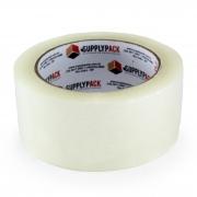 Fita Adesiva Transparente Hot Melt 45mm X 100m Supplypack