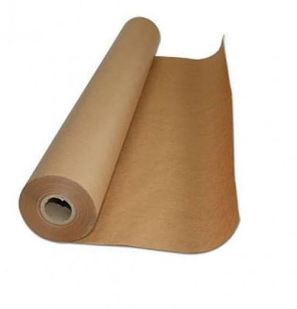 Bobina Papel Pardo Kraft Monolúcido 120cm 80G Supplypack 10KG
