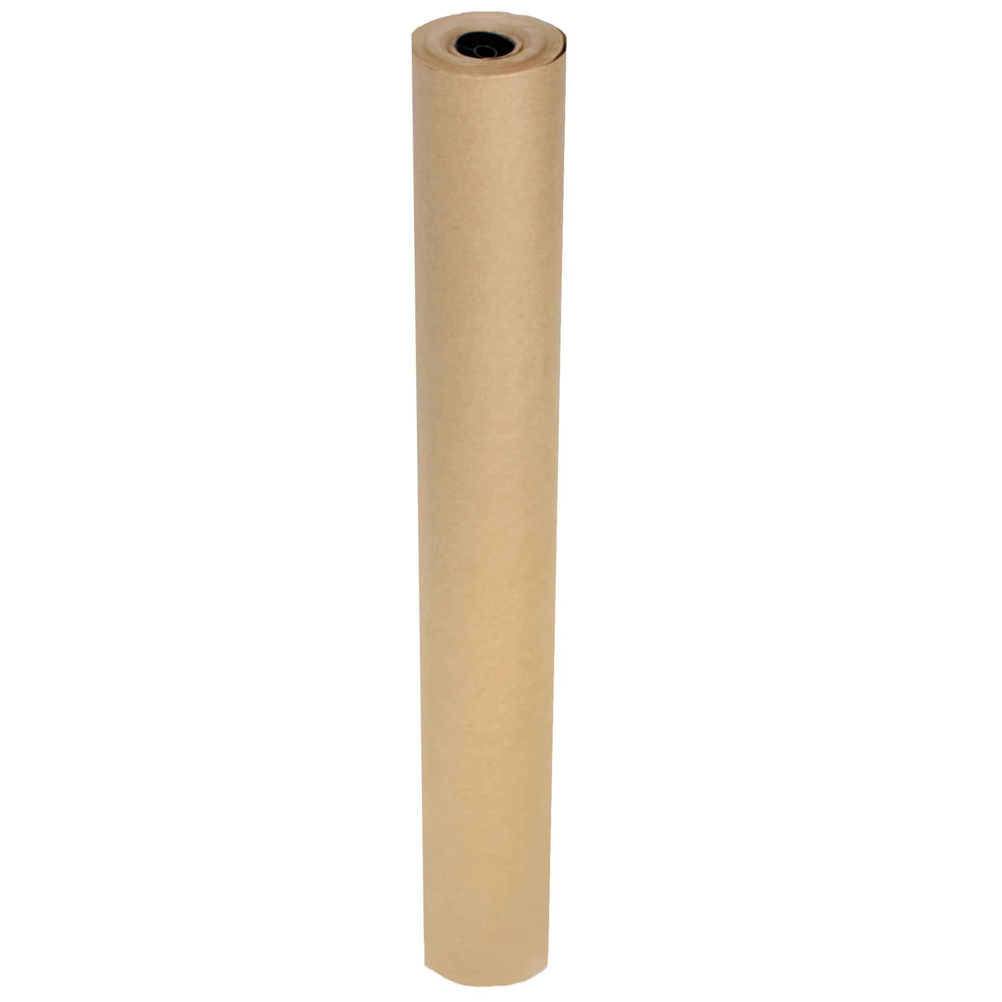 Bobina Papel Pardo Kraft Monolucido 120cm 80G Supplypack 10KG