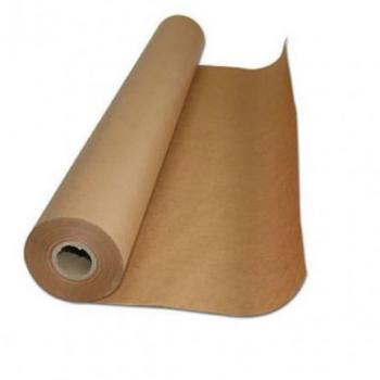 Bobina Papel Pardo Semi - Kraft 120cm 80G Supplypack Supplypack 18KG