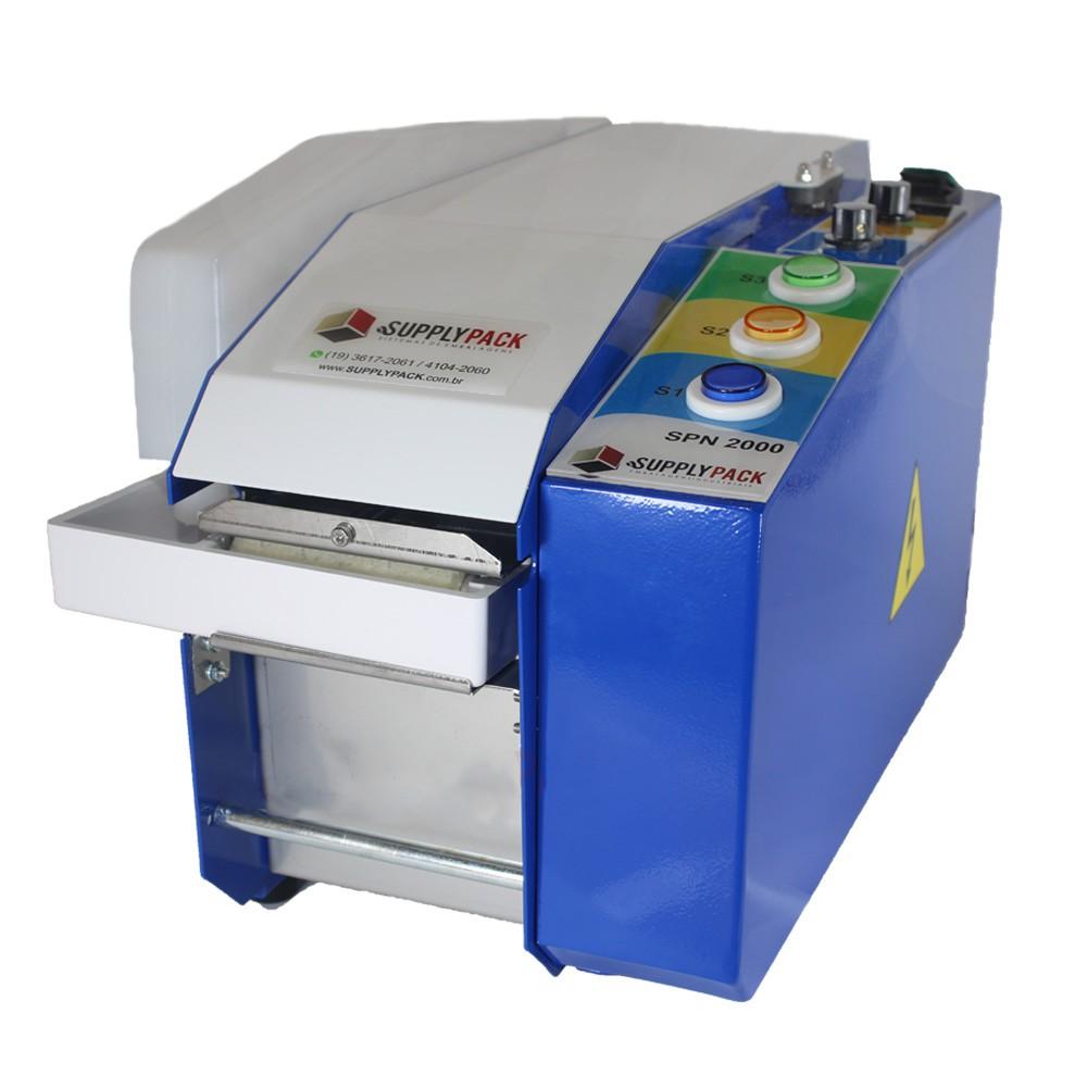 Dispensador de Fita Gomada Eletronico Semi-Automatico C/ NR12 Supplypack