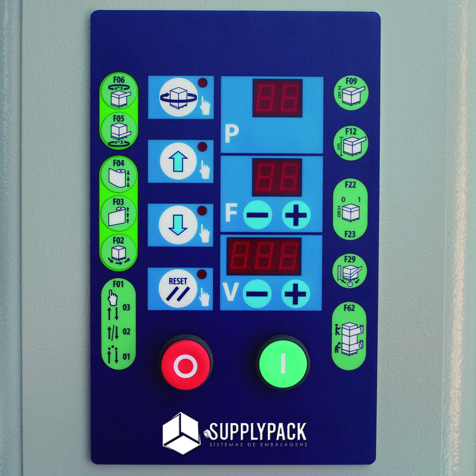 Envolvedora semi-Automática de Filmes Stretch Venda e Locação Supplypack