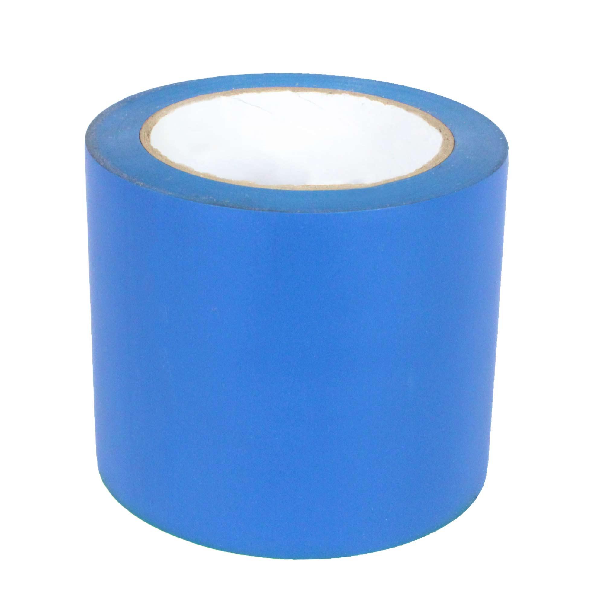 Fita Adesiva de Demarcação de Solo 100MM X 30M - Azul Supplypack