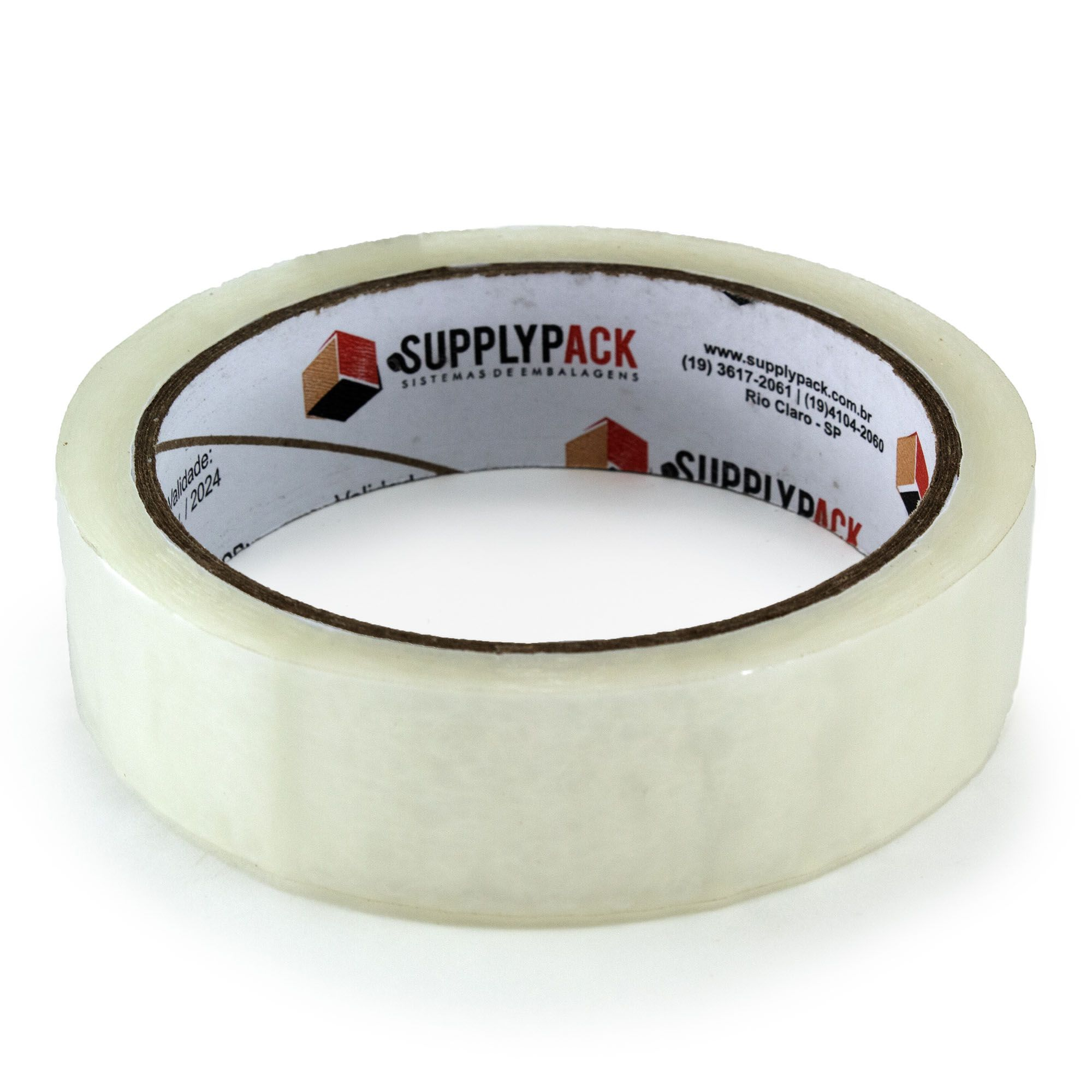 Fita Adesiva Transparente 24mm X 100m Supplypack