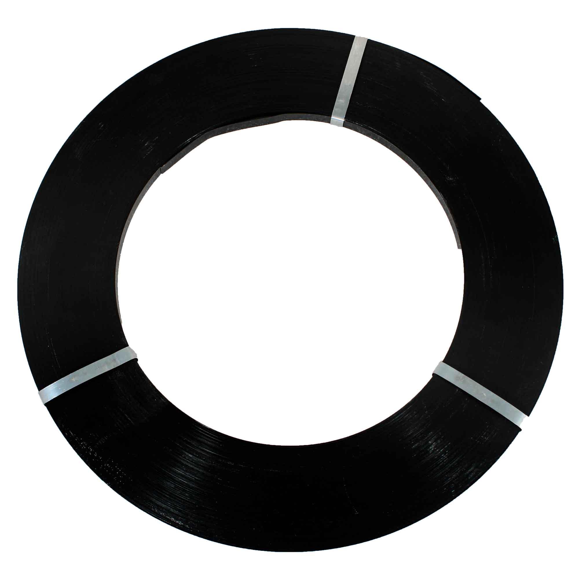 Fita de Aco Preta Laqueada FE-2 16 x0,5mm