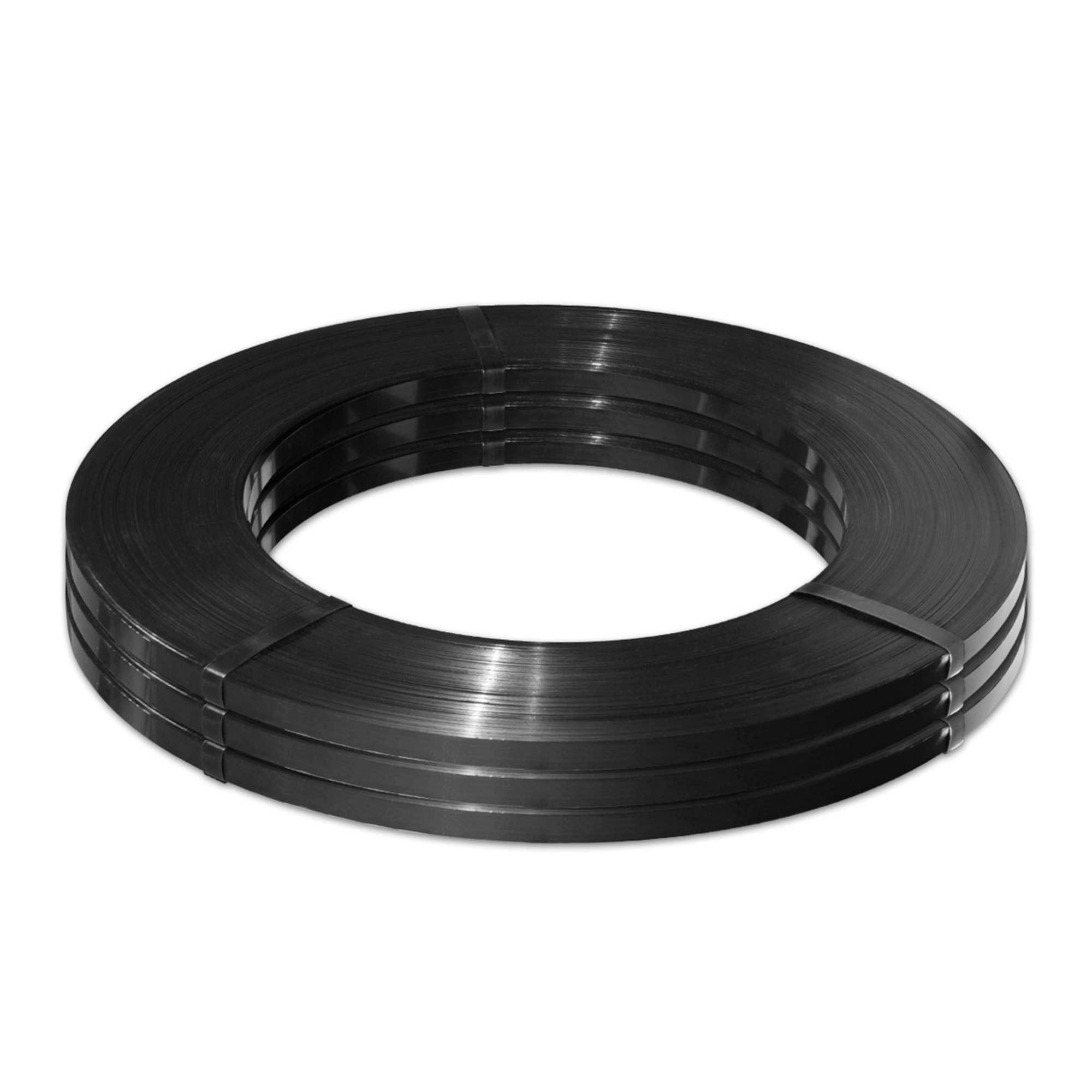 Fita de Aço Preta Laqueada FE-2 19 x0,5mm