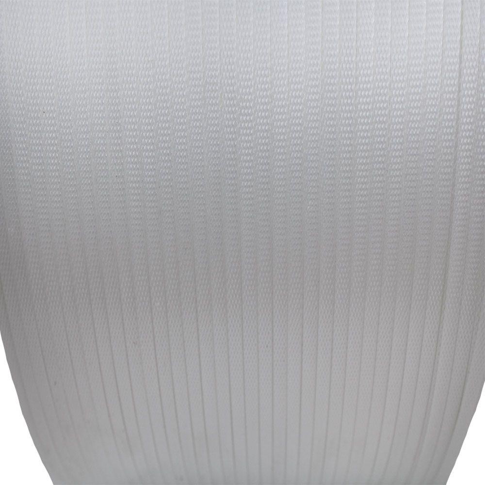 Fita de Arquear Mosca 5,0mm X 0,5mm X 5000m Branca Supplypack