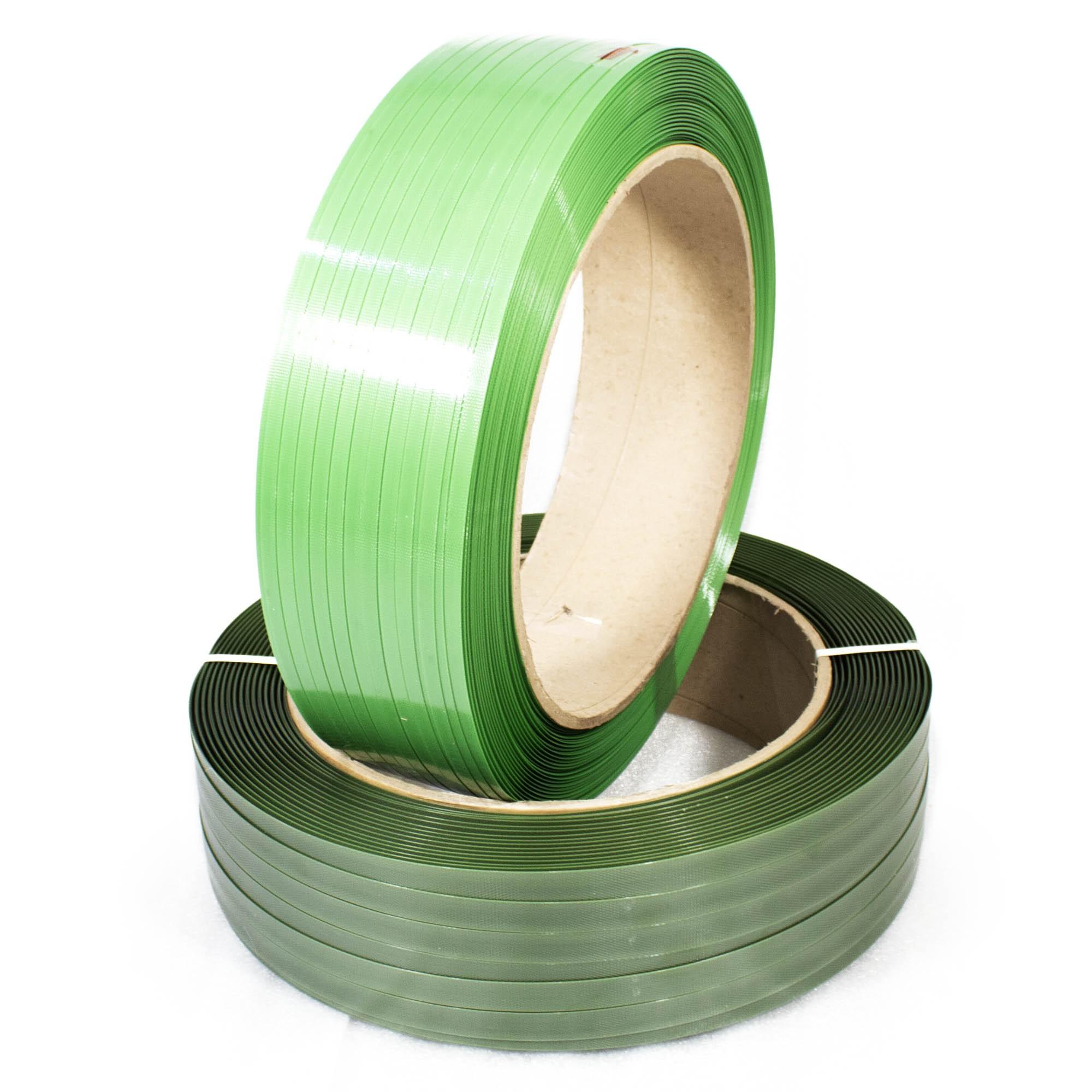 Fita Pet Verde de Arquear 13mm X 1500 metros Supplypack