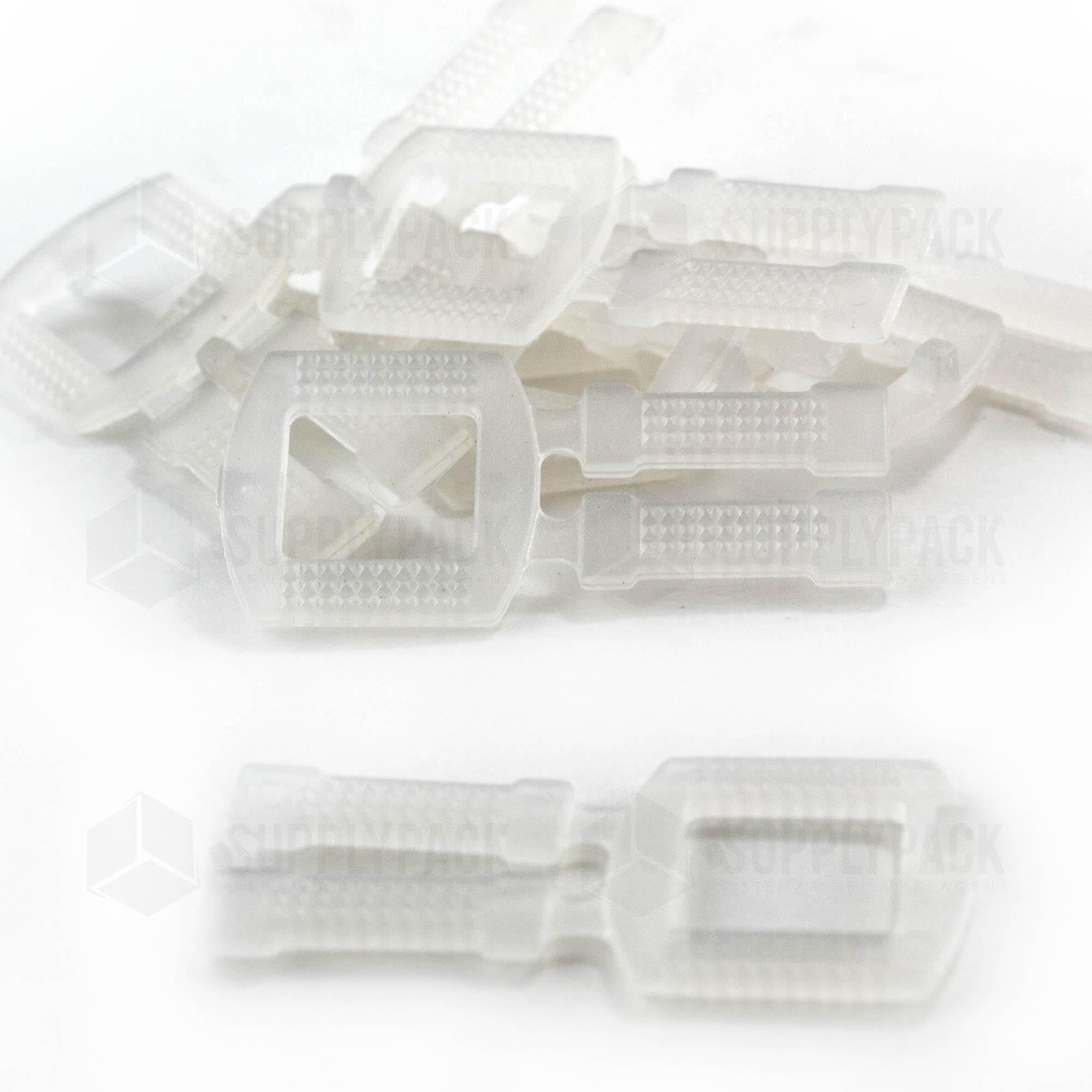 Fivela Plástica 13mm - Pct. c/ 1000 Und. Supplypack