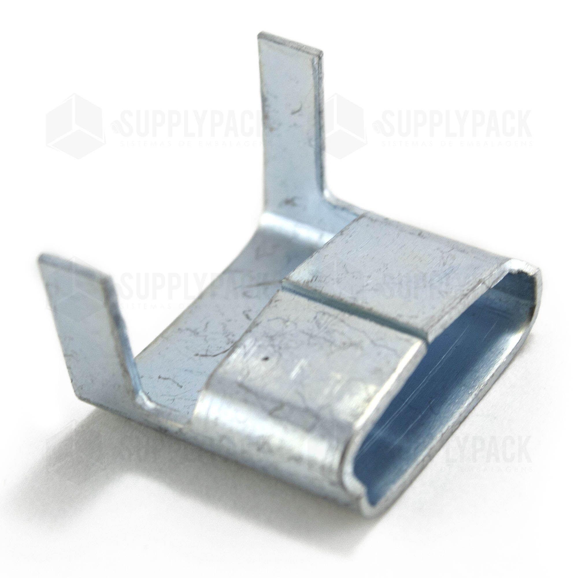 Selo Metalico VR p/ Fita de Aco 13mm KG Supplypack