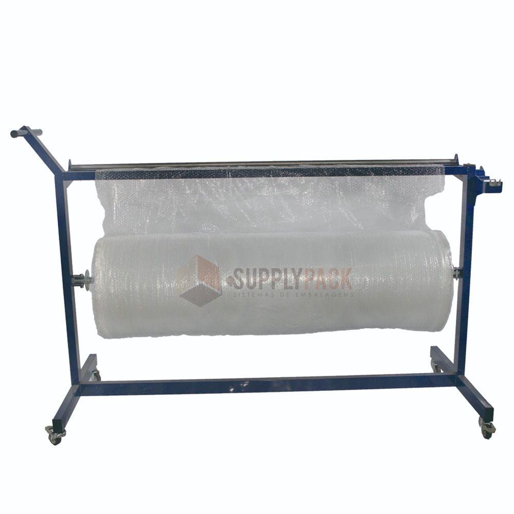 Suporte Movel P/ Bobina De Plastico Bolha Supplypack