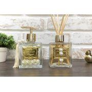 Kit Aromático 1 - Cubo em Pérolas - Dourado