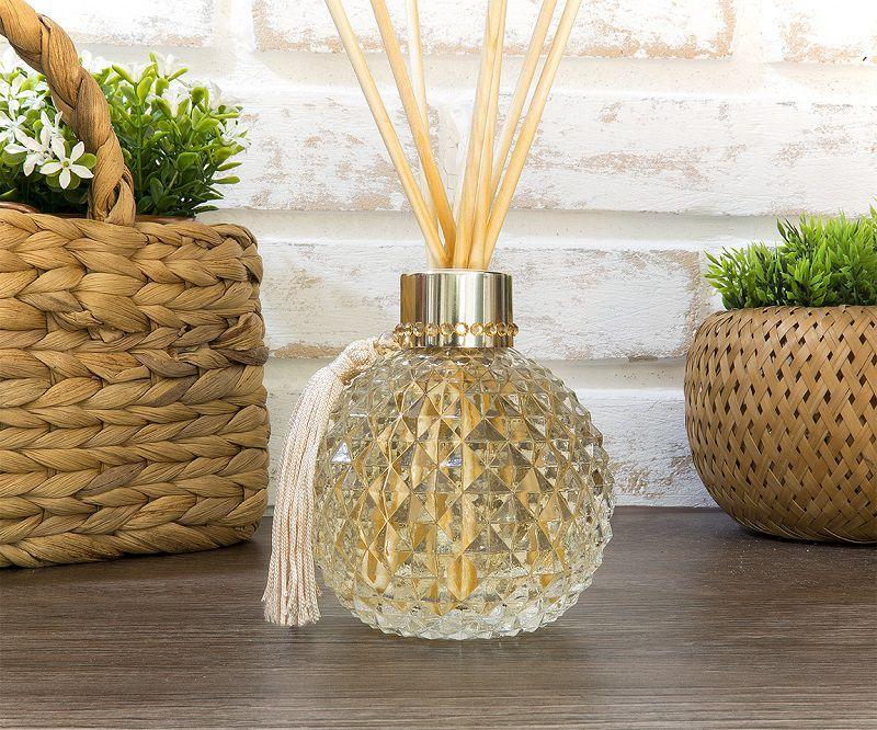 Difusor de Aromas - Esfera Classic Cristal - Dourado - 300ml