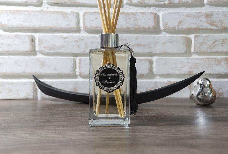 Difusor de Aromas - Square Cristal - Prata - 140ml