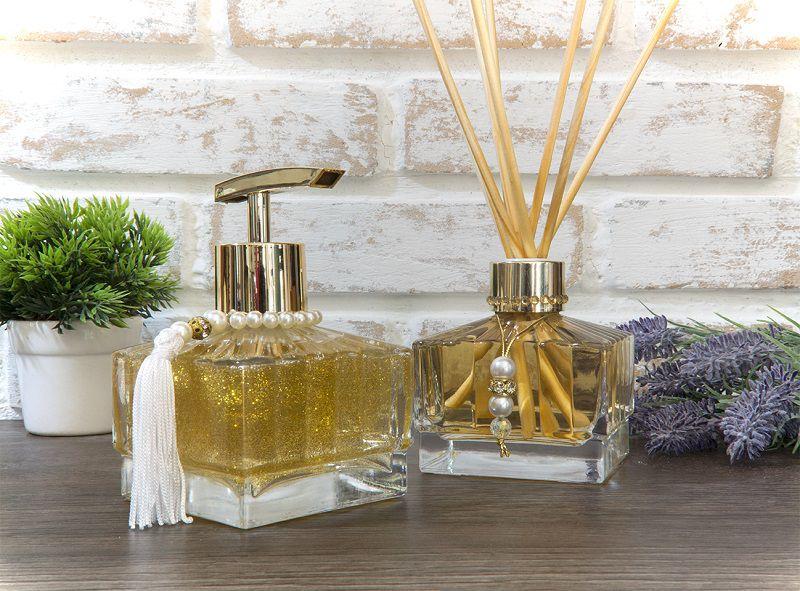 Kit Aromático - Lumine Luxo - Dourado