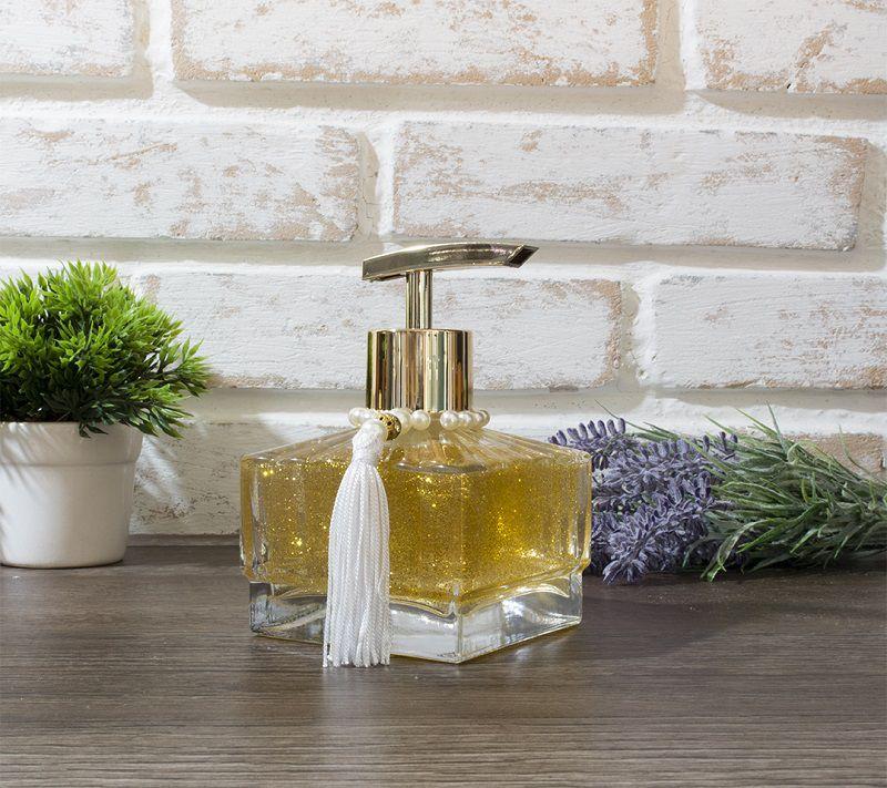 Sabonete Líquido - Lumine Luxo - Dourado - 205 ml