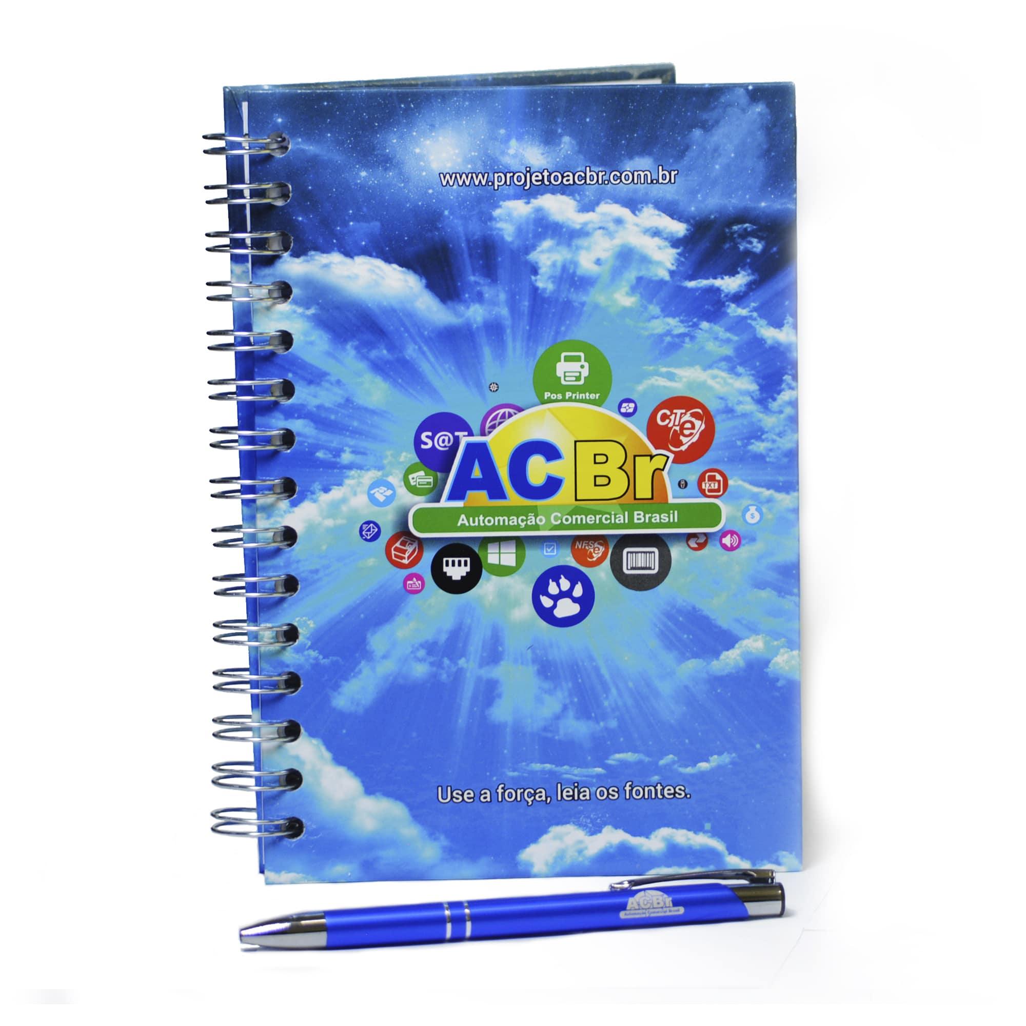 Kit Agenda + Caneta
