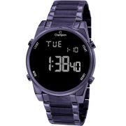 Relógio Champion Feminino Digital LCD Roxo CH40071L