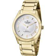 Relógio Champion Feminino Dourado Social CN28866H
