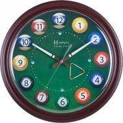 Relógio de Parede Herweg Decorativo Sinuca 6469 084