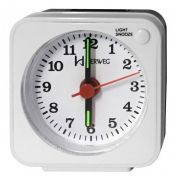 Relógio Despertador Herweg Quartz Branco 2510 021