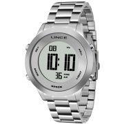 Relógio Lince Feminino Digital Prata Aço SDPH039L SXSX