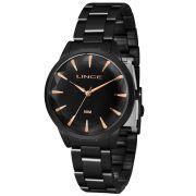 Relógio Lince Feminino Fashion Black Analógico LRN4563L P1PX
