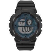 Relógio Mormaii Masculino Wave Digital Preto e Azul MO3415D/8A