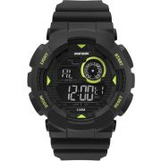Relógio Mormaii Masculino Wave Digital Preto MO3415C/8V