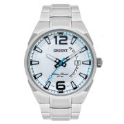 Relógio Orient Masculino Aço Prata Analógico MBSS1336 S2SX