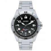Relógio Orient Masculino Analógico Prata e Preto MBSS1155A P2SX