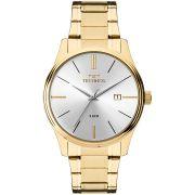 Relógio Technos Masculino Dourado Classic Steel 2115MPN/4K