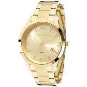 Relógio Technos Feminino Dourado Dress 2315ACD/4X