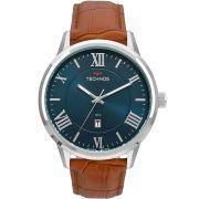 Relógio Technos Masculino Classic Pulseira Couro 2115MTX/0A