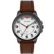 Relógio Technos Masculino Grafite Classic Steel 2115MPB/2B