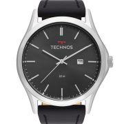 Relógio Technos Masculino Prata Classic Steel 2115MSG/0P