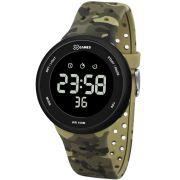 Relógio X Games Masculino Digital Camuflado Esportivo XMPPD486 PXEF