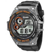 Relógio X Games Masculino Digital Laranja XMPPD321 BXPX