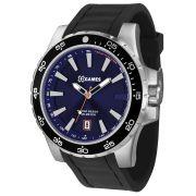 Relógio X Games Masculino Analógico Preto e Azul XMSP1015 D1PX
