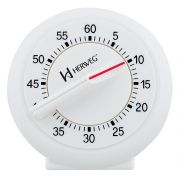 Timer Herweg Branco 3203 021 Contagem Regressiva Alarme 60 Minutos
